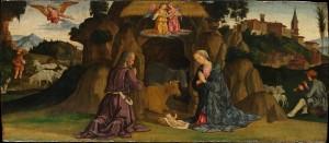 The Nativity, Antoniazzo Romano (Antonio di Benedetto Aquilio) (Roman, active by 1452–died by 1512), The Metropolitan Museum of Art